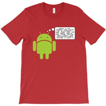 Android Paranoia T-shirt Designed By Platinumshop