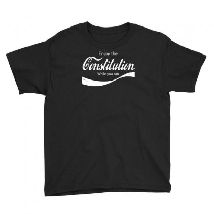 Constitution Cola Youth Tee Designed By Achreart