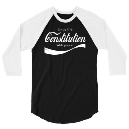 Constitution Cola 3/4 Sleeve Shirt Designed By Achreart