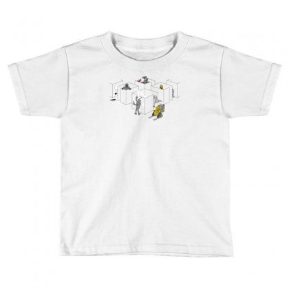 Corporate Robots Toddler T-shirt Designed By Achreart