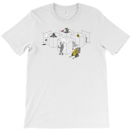 Corporate Robots T-shirt Designed By Achreart