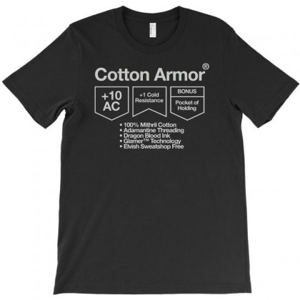 Cotton Armor T-shirt Designed By Achreart