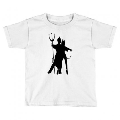 Dance With The Devil Toddler T-shirt Designed By Lisamona772