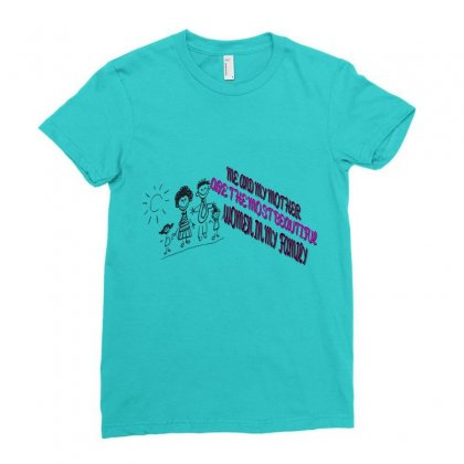 Quotes For Women T Shirt Ladies Fitted T-shirt Designed By Jhanafi