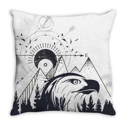 Eagle Throw Pillow Designed By Estore