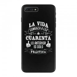 La Vida comienza a los iPhone 7 Plus Case | Artistshot