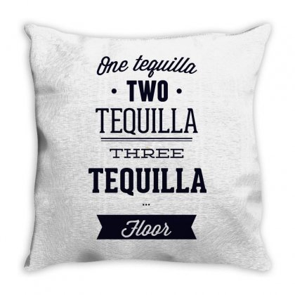 One Teguilla Two Teguilla Three Teguilla Throw Pillow Designed By Estore