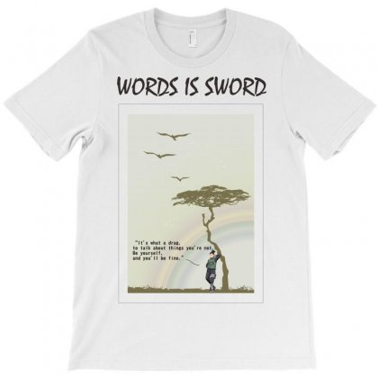 Words Is Sword Shikamaru T-shirt Designed By Colle-q
