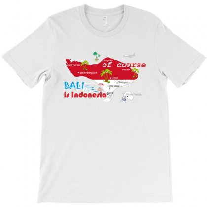 Bali Is Indonesia T-shirt Designed By Colle-q