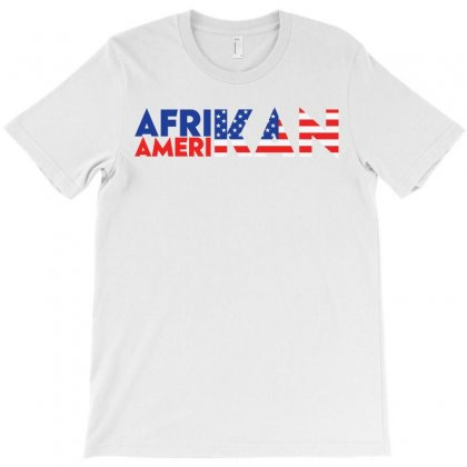 African-american T-shirt T-shirt Designed By Eddie King