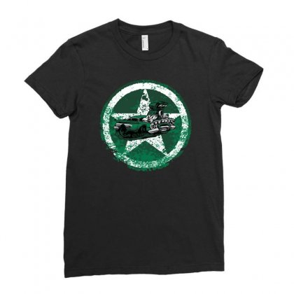Defensive Driver Ladies Fitted T-shirt Designed By Achreart
