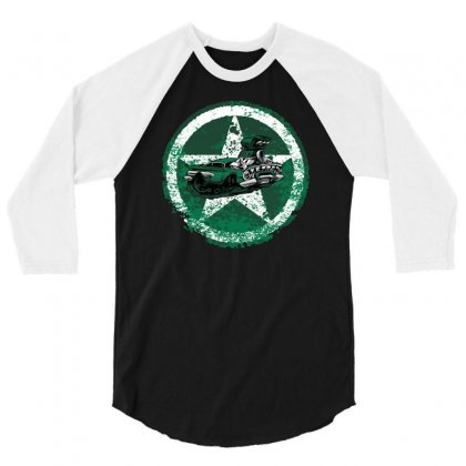 Defensive Driver 3/4 Sleeve Shirt Designed By Achreart