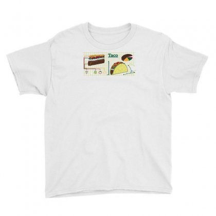 Diy Taco Youth Tee Designed By Achreart