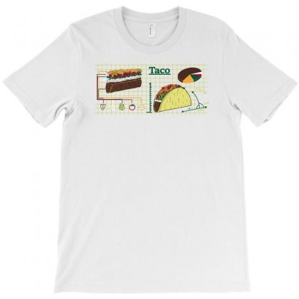 Diy Taco T-shirt Designed By Achreart