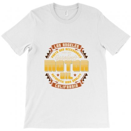 Moto Oil Gasoline T-shirt Designed By Perfect Designers