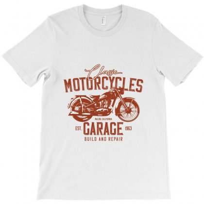 Motocycle Garage T-shirt Designed By Perfect Designers