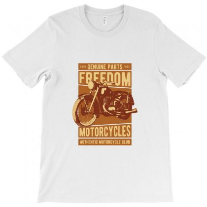 Motorcycle Freedom T-shirt Designed By Perfect Designers