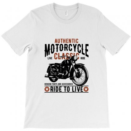 Motorcycle Ride To Live T-shirt Designed By Perfect Designers
