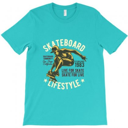 Skate Lifestyle T-shirt Designed By Perfect Designers