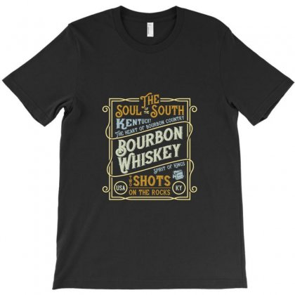 Whiskey Stone Shots On The Rock T-shirt Designed By Perfect Designers
