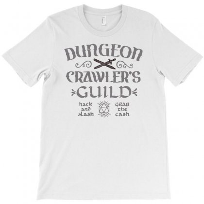 Dungeon Crawler's Guild T-shirt Designed By Achreart