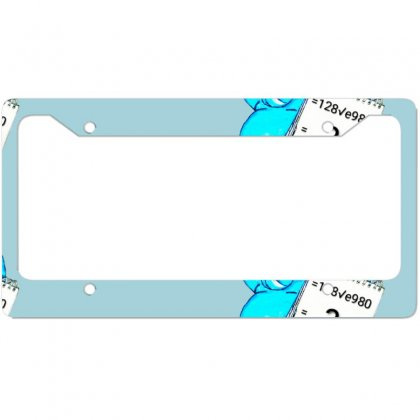 Ilove You License Plate Frame Designed By @dity@