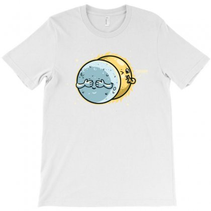 Eclipse Hide And Seek T-shirt Designed By Achreart