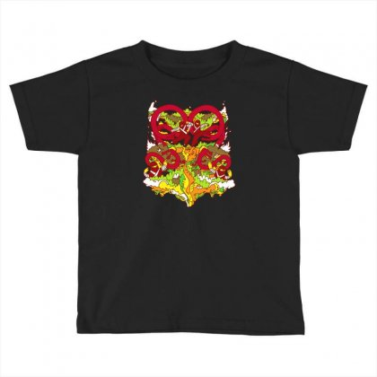 Eight Fists Of Death Toddler T-shirt Designed By Achreart