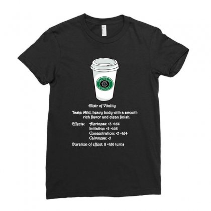 Elixir Of Vitality Ladies Fitted T-shirt Designed By Achreart