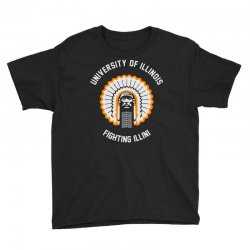university of illinois Youth Tee | Artistshot