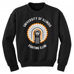 university of illinois Youth Sweatshirt | Artistshot
