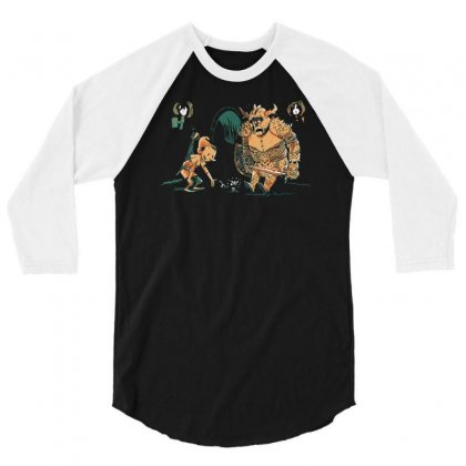 Even Bards Get Lucky Sometimes 3/4 Sleeve Shirt Designed By Achreart