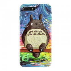 totoro starry night art van gogh parody iPhone 7 Plus Case | Artistshot