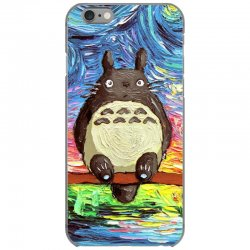 totoro starry night art van gogh parody iPhone 6/6s Case | Artistshot