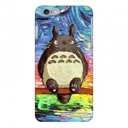 totoro starry night art van gogh parody iPhone 6 Plus/6s Plus Case | Artistshot