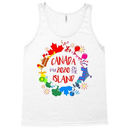 Canada Day 2020 On The Island Tank Top Designed By Coolstars