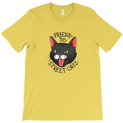Street Cats T-shirt Designed By Erickthohir