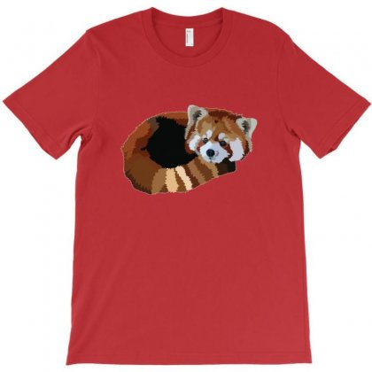 Red Panda T-shirt Designed By Erickthohir
