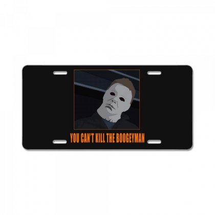 Halloween Michael Myers License Plate Designed By Garamont