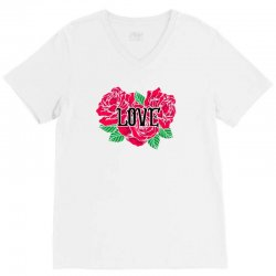 love rose for light V-Neck Tee | Artistshot