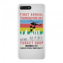 first annual thanksgiving day turkey drop for light iPhone 7 Plus Case | Artistshot
