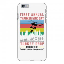 first annual thanksgiving day turkey drop for light iPhone 6 Plus/6s Plus Case | Artistshot
