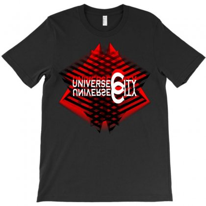 Universe City T-shirt Designed By Nowlam