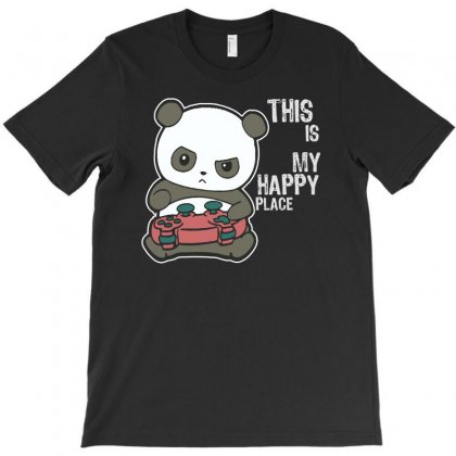 Is My Happy Place T-shirt Designed By Aheupote
