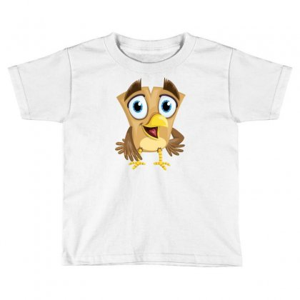Funny Little Bird (part 6) Toddler T-shirt Designed By F