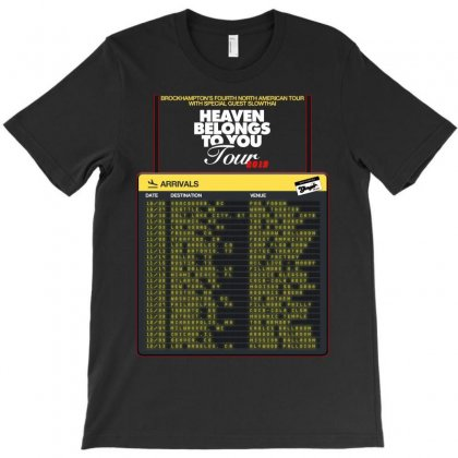 Heaven Belongs To You Date Tour 2019 T-shirt Designed By Nugrahadamanik