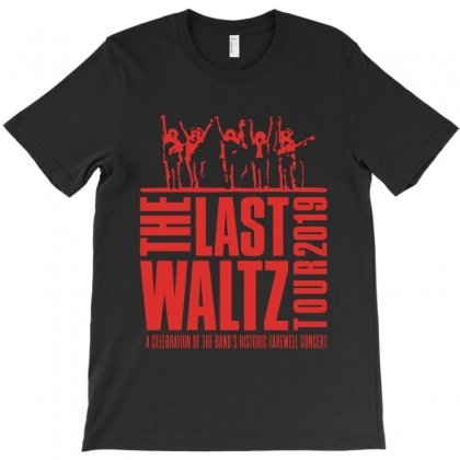 The Last Waltz Celebration Of The Band Farewell T-shirt Designed By Nugrahadamanik
