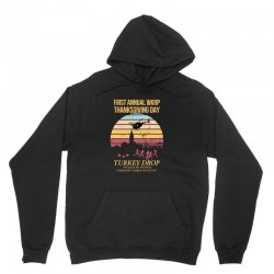 first annual wkrp thanksgiving day Unisex Hoodie | Artistshot