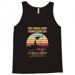 first annual wkrp thanksgiving day Tank Top | Artistshot