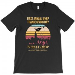 first annual wkrp thanksgiving day T-Shirt | Artistshot